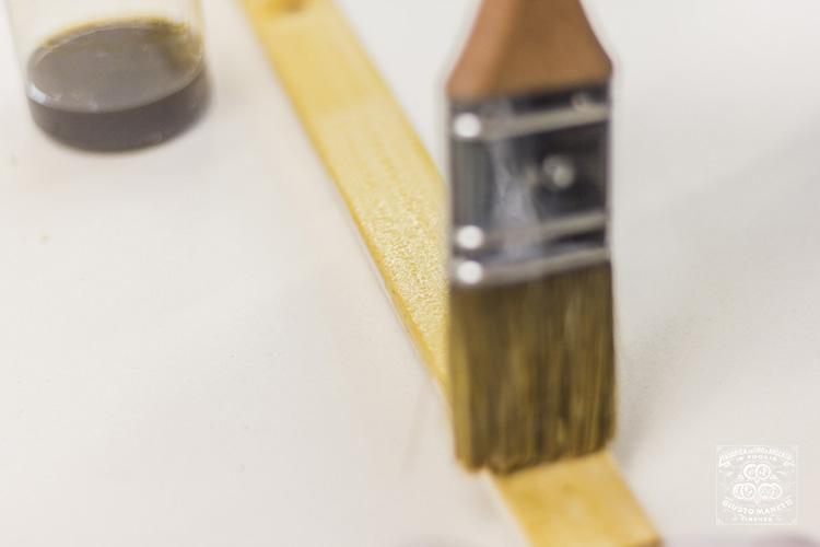 Золочение с использованием спиртовой эмульсии - Сусальное золото и серебро