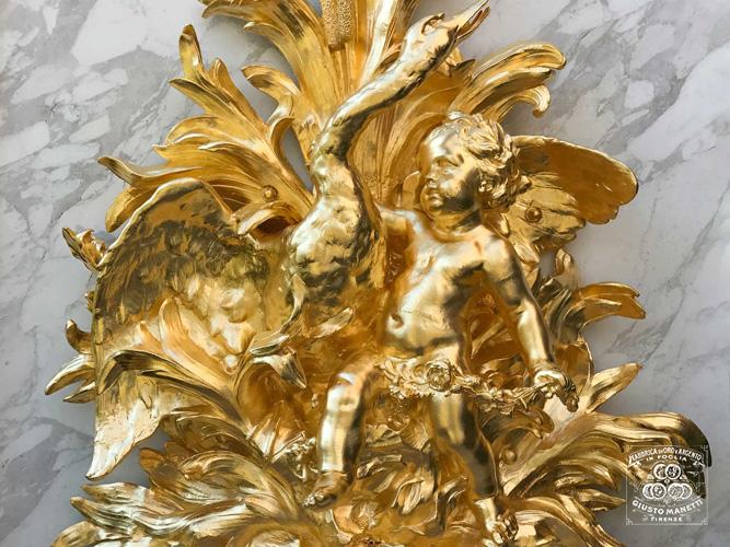 Золочение на мордан - Сусальное золото и серебро