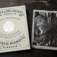 Поталь серебряная (имитационное серебро) - Сусальное золото и серебро