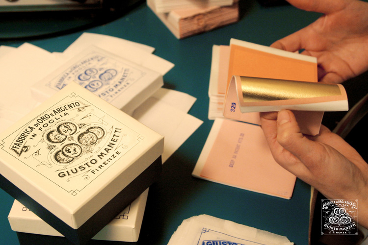 Производство сусального золота Manetti во Флоренции - Сусальное золото и серебро