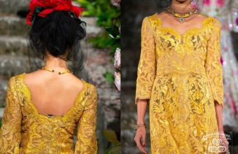 Сусальное золото Manetti на презентации новых коллекций Dolce & Gabbana