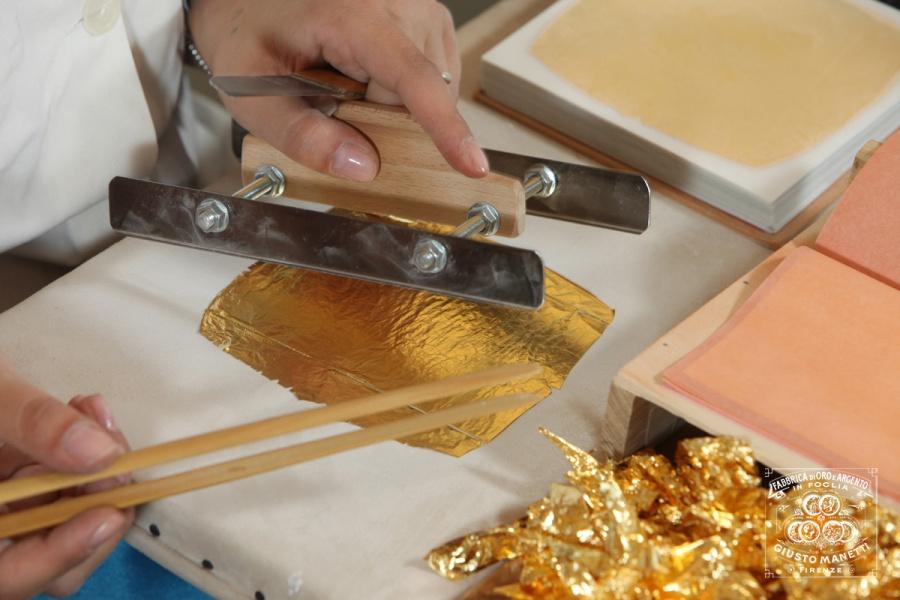 Производство сусального золота Manetti во Флоренции