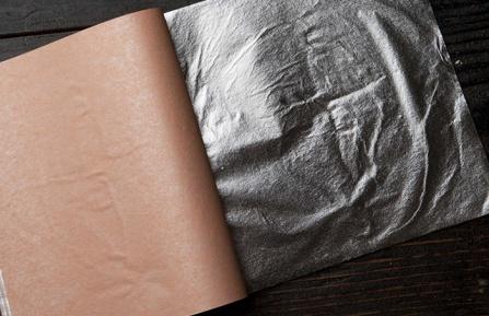 Поталь серебряная (имитационное серебро)